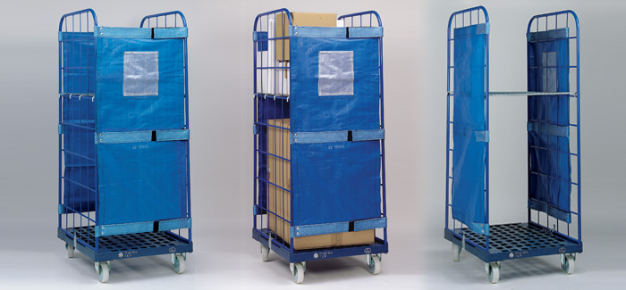 Fall Protection Panel For Roll Containers Roll Container